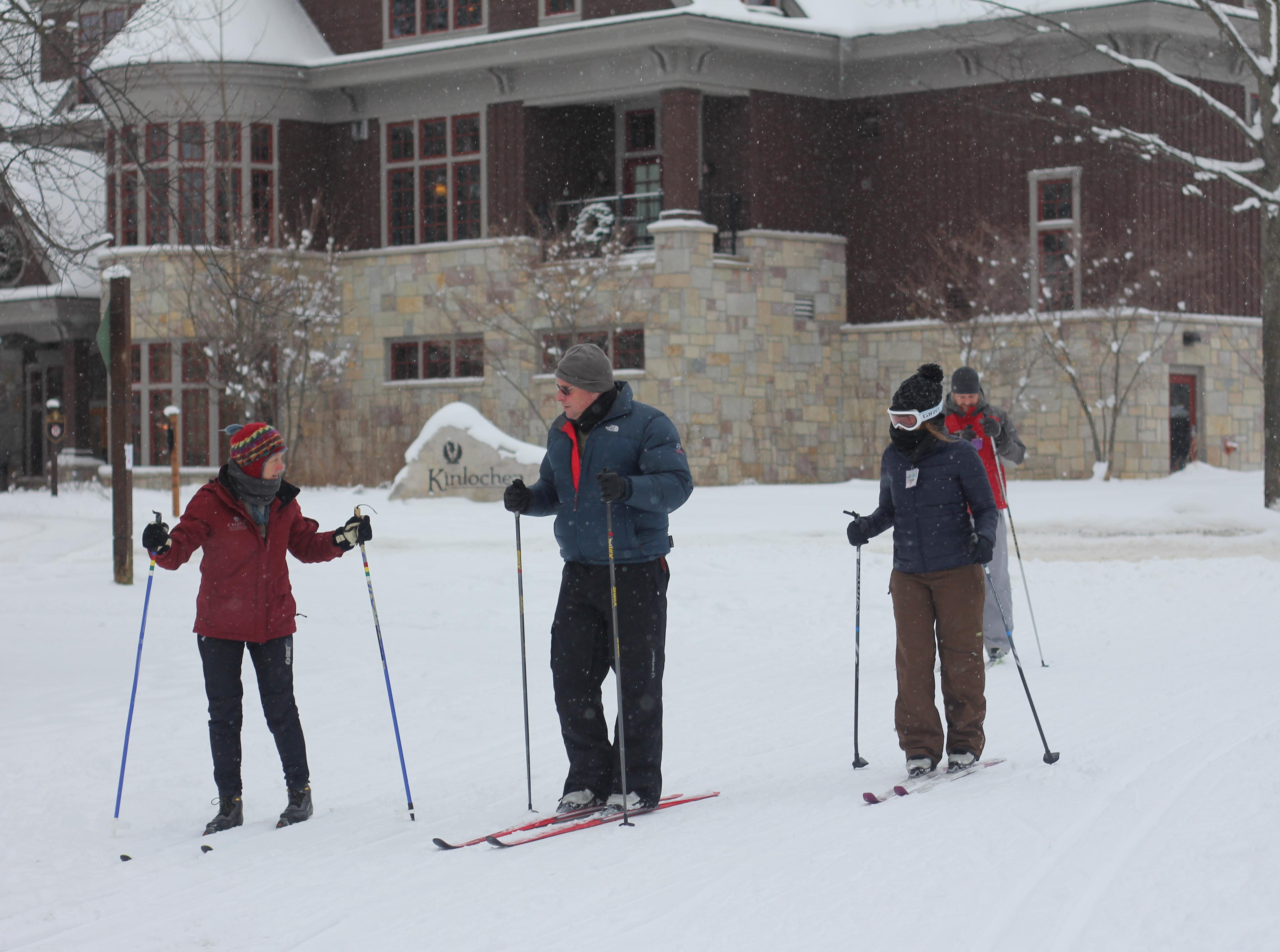 crystal XC Trails Day at Otter Run trailhead
